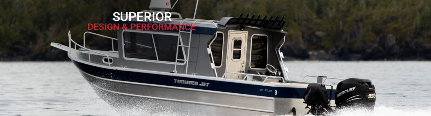 Aluminum Boats For Sale Bc >> Thunder Jet Boats For Sale Bc Canada